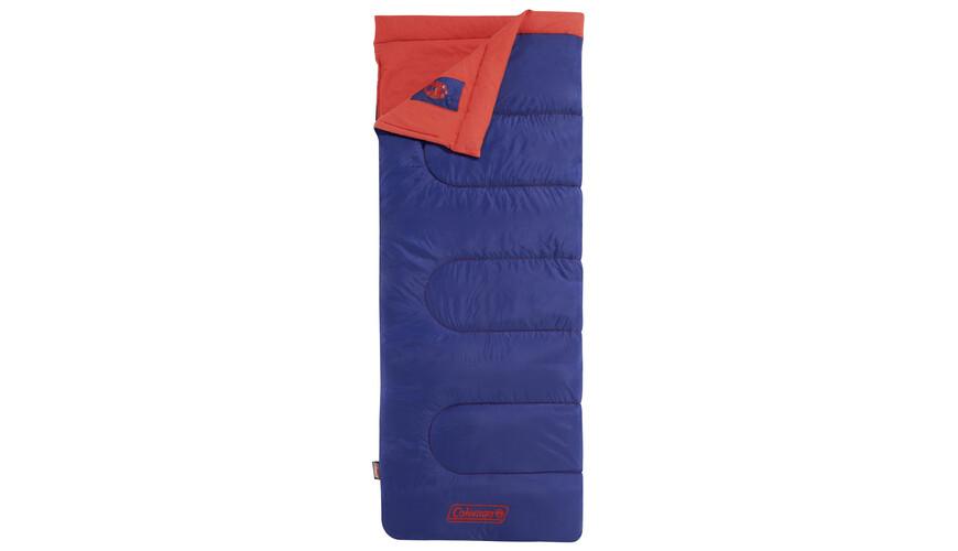 Coleman slaapzak Heaton Peak Slaapzak en Inlet rood/blauw